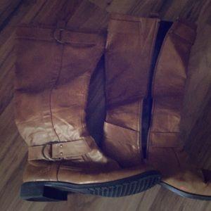 Aerosoles rideline leather boots